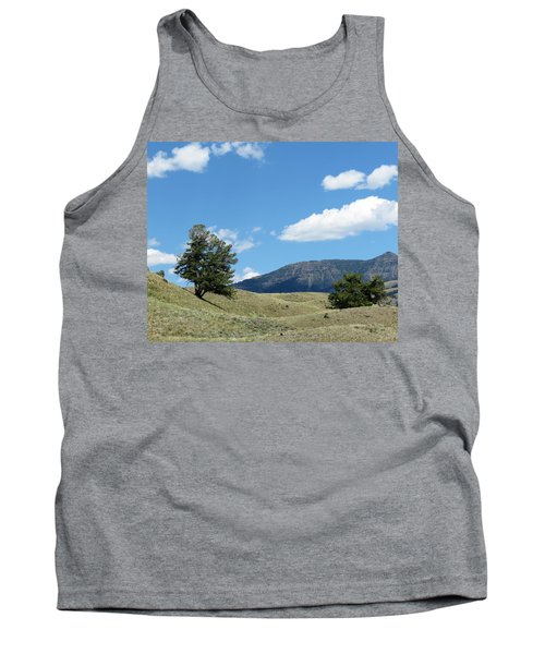 Tank Top featuring the photograph Rolling Hills by Laurel Powell