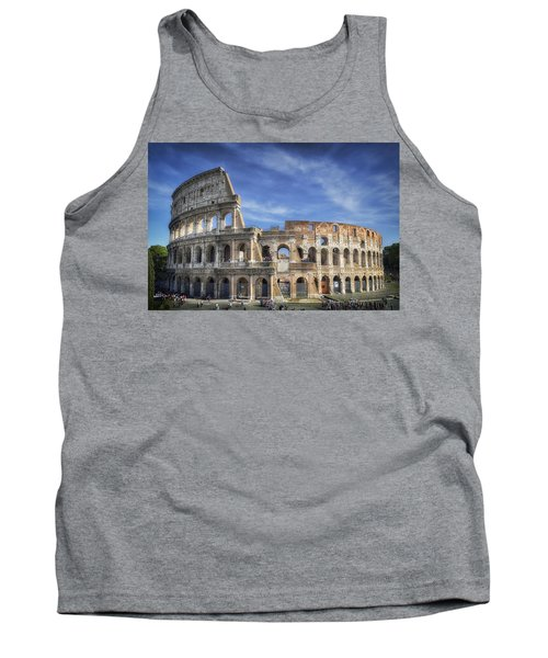 Tank Top featuring the photograph Roman Icon by Joan Carroll
