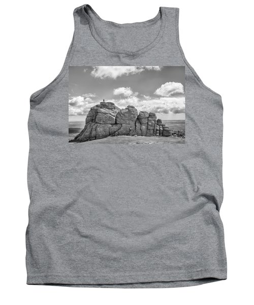 Tank Top featuring the photograph Room On Top by Howard Salmon
