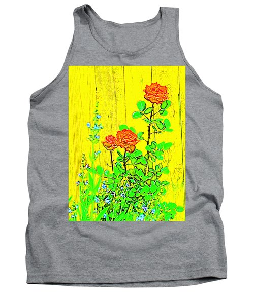 Tank Top featuring the photograph Rose 9 by Pamela Cooper