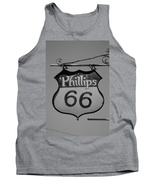 Route 66 - Phillips 66 Petroleum Tank Top by Frank Romeo