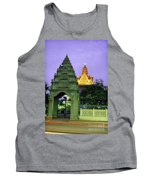 Royal Palace Phnom Penh Cambodia Tank Top