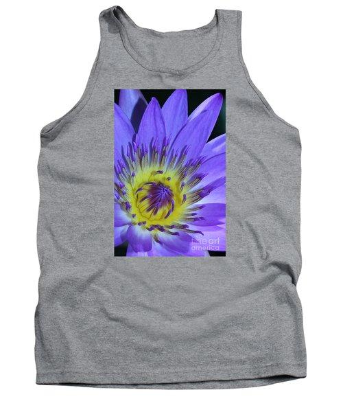 Royal Purple Water Lily #11 Tank Top