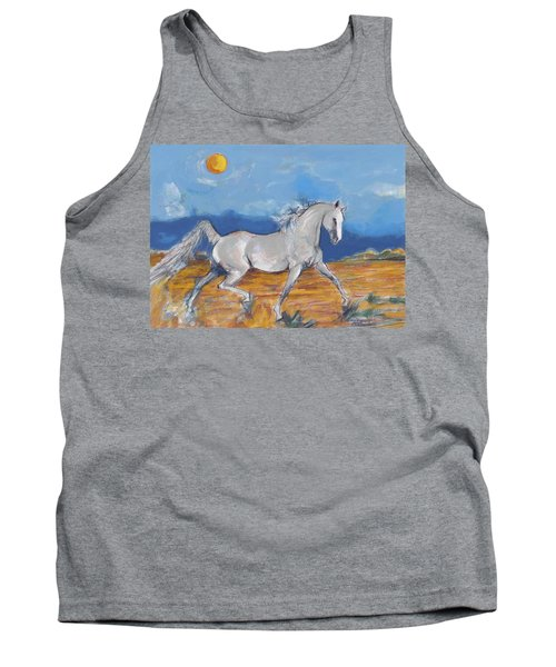 Running Horse M Tank Top by Mary Armstrong