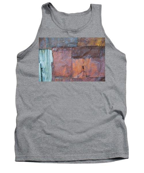 Rust Squared Tank Top