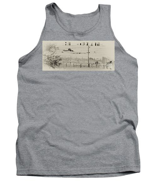 Rust Wind And Time Are Not Kind Tank Top