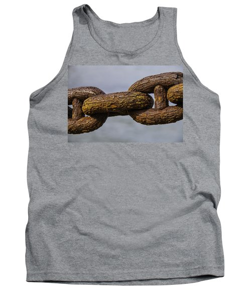 Rusty Sea Shore Chain Tank Top