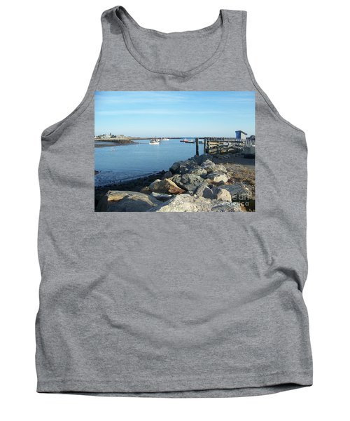 Tank Top featuring the photograph Rye Harbor  by Eunice Miller