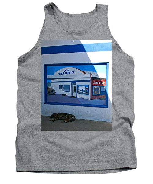 S And W Tire Service Mural Tank Top