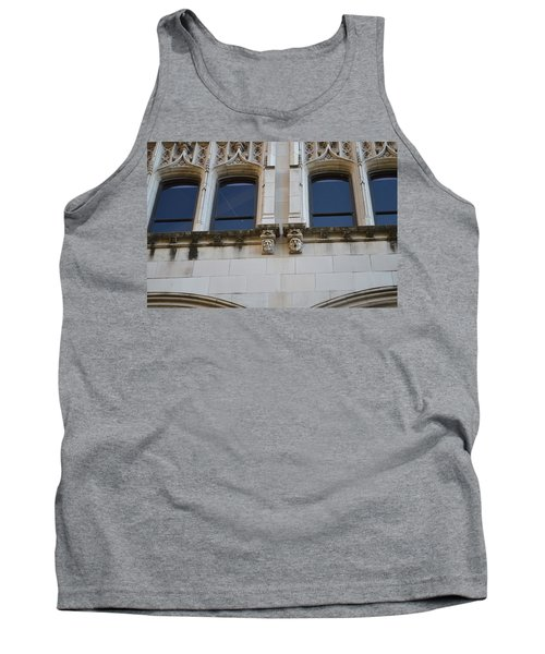 Tank Top featuring the photograph Sa Gargoyles  by Shawn Marlow
