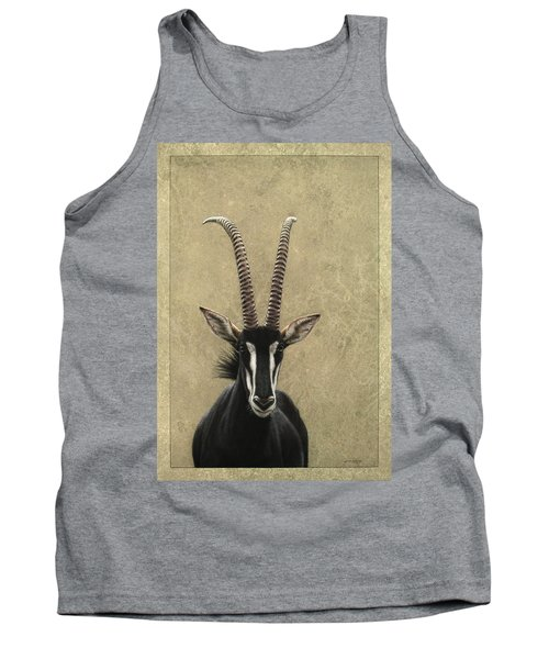 Sable Tank Top by James W Johnson