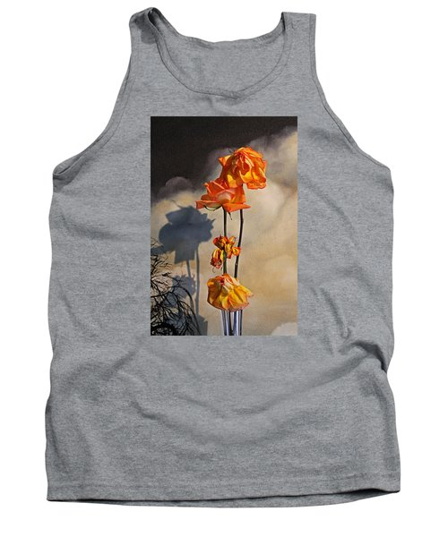 Tank Top featuring the photograph Sad To See You Go by John Stuart Webbstock