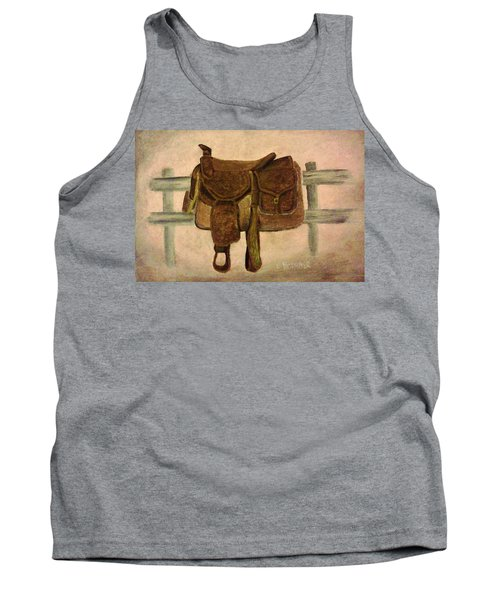 Saddle Up Tank Top by Christy Saunders Church
