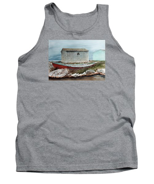 Safe From The Storm Tank Top