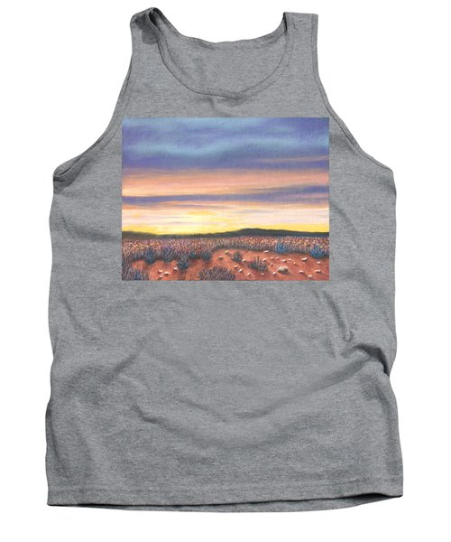Sagebrush Sunset B Tank Top