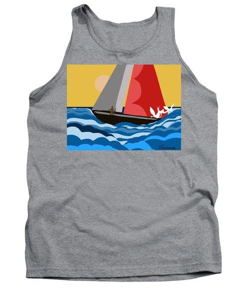 Sail Day Tank Top