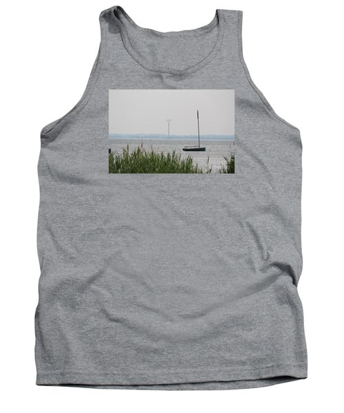 Tank Top featuring the photograph Sailboat by David Jackson