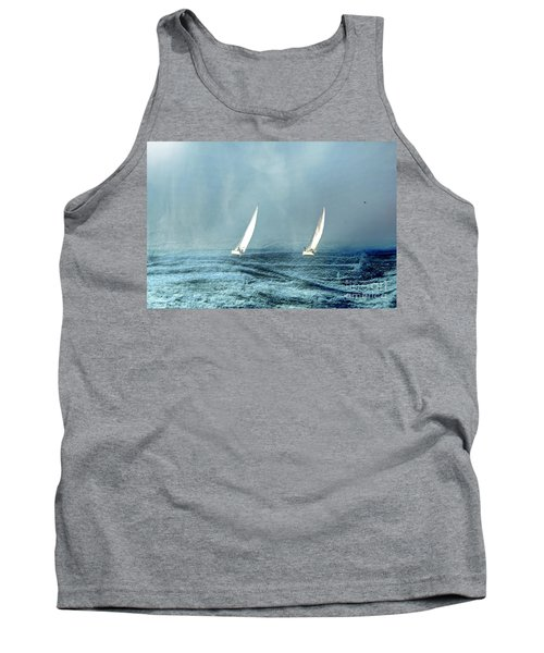 Sailing Into The Unknown Tank Top