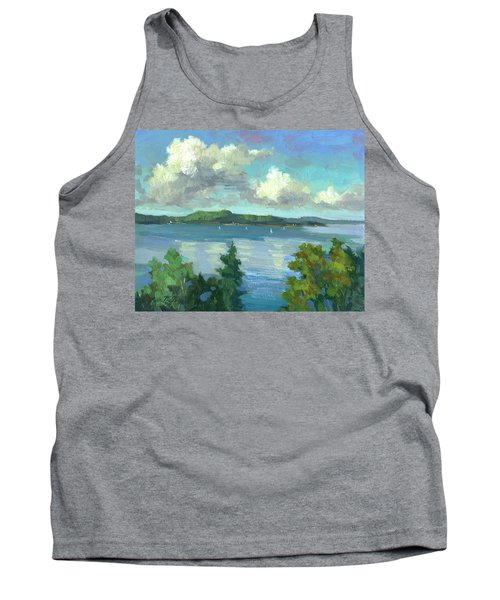 Sailing On Puget Sound Tank Top