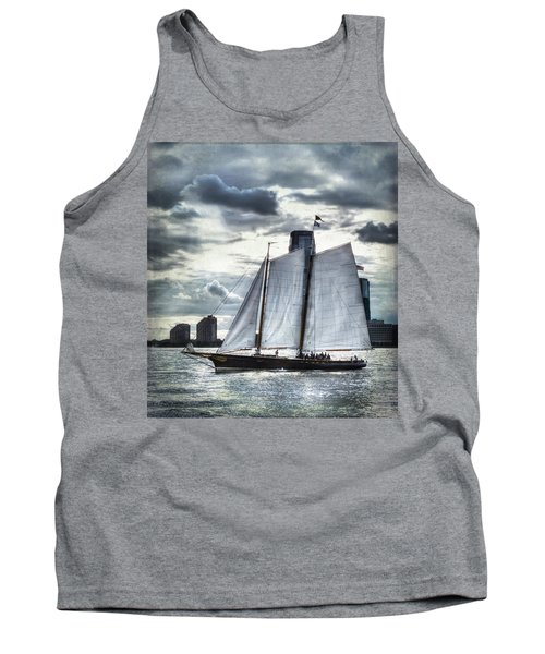 Sailing On The Hudson Tank Top