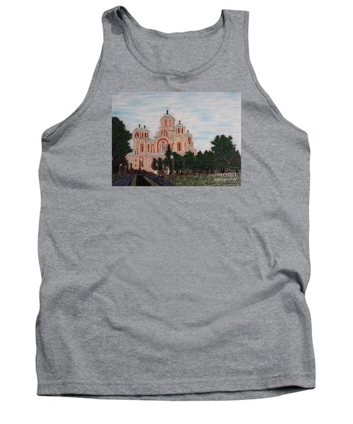 Saint Marko Church  Belgrade  Serbia  Tank Top