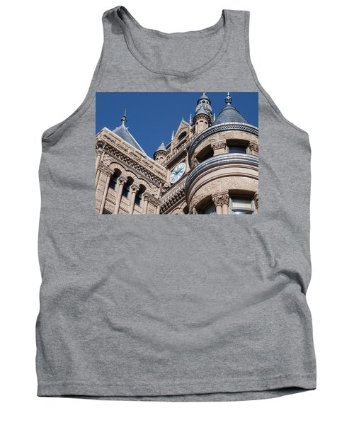 Tank Top featuring the photograph Salt Lake City - City Hall - 1 by Ely Arsha