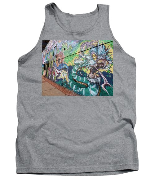 Tank Top featuring the photograph Salt Lake City - Mural 2 by Ely Arsha