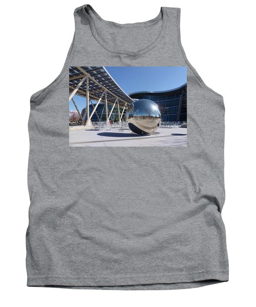 Tank Top featuring the photograph Salt Lake City Police Station - 1 by Ely Arsha