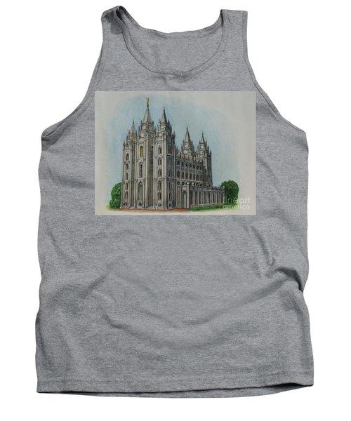 Salt Lake City Temple I Tank Top