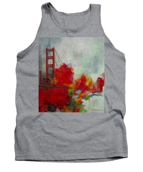 San Francisco City Collage Tank Top