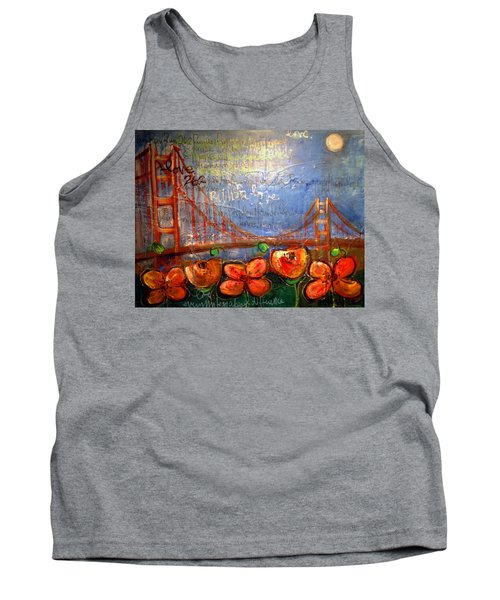 San Francisco Poppies For Lls Tank Top