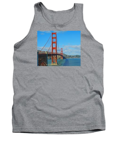 San Francisco's Golden Gate Bridge Tank Top