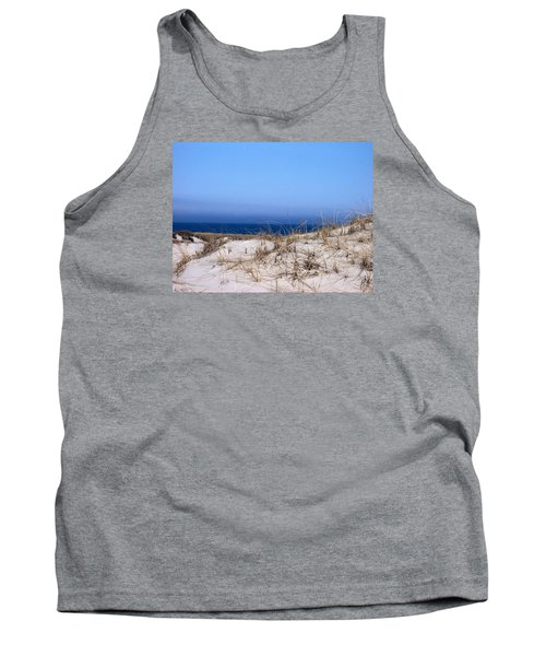 Sand And Sky Tank Top by Catherine Gagne