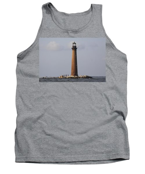 Sand Island Lighthouse - Once 40 Acres Tank Top