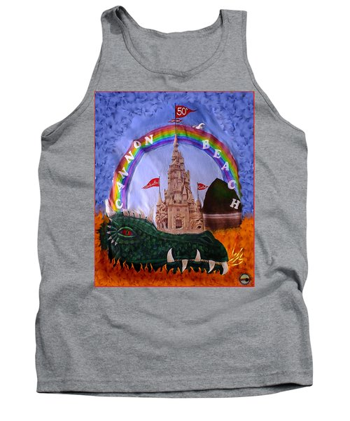 Tank Top featuring the photograph Sandcastle Shirt by Wendy McKennon