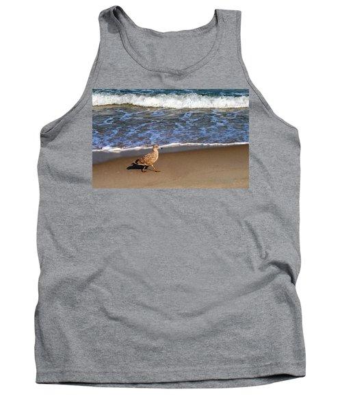 Sandpiper At Ortley Beach, Nj Tank Top
