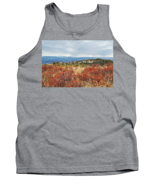 Sandstone Peak Fall Landscape Tank Top