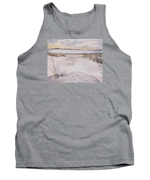 Santa Cruz Sunset Tank Top by Ian Donley