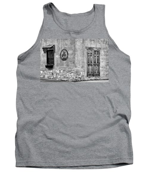 Tank Top featuring the photograph Santa Fe New Mexico Street Corner by Ron White