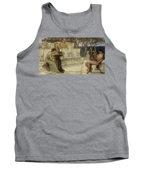 Sappho And Alcaeus Tank Top