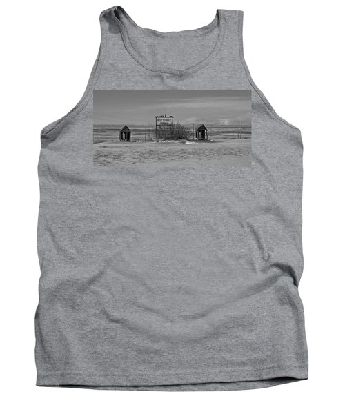 Tank Top featuring the photograph Savageton Cemetery  Wyoming by Cathy Anderson
