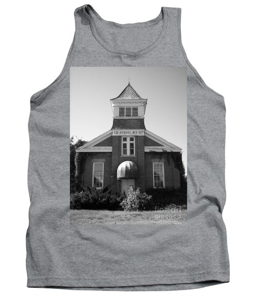 Tank Top featuring the photograph School House by Michael Krek