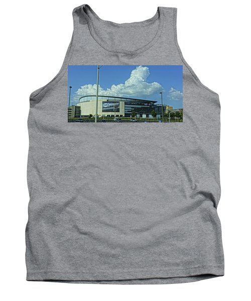 Scottrade Center Home Of The St Louis Blues Tank Top by Greg Kluempers
