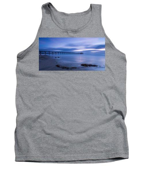 Scripps Pier Twilight - Color Tank Top