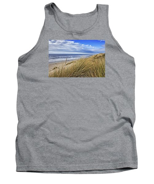 Sea Grass And Sand Dunes Tank Top