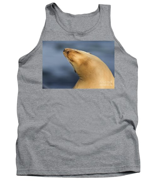 Tank Top featuring the photograph Sea Lion Stretch by Bryan Keil