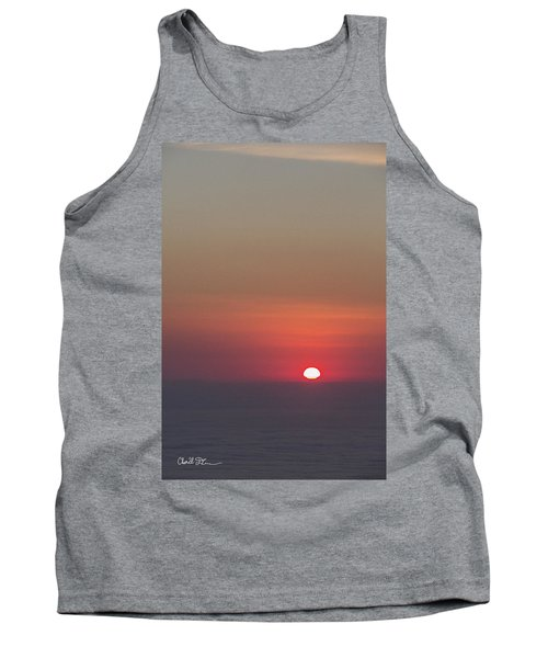 Sea Of Clouds Sunset Tank Top