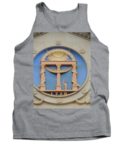 Tank Top featuring the photograph seal of Georgia by Aaron Martens