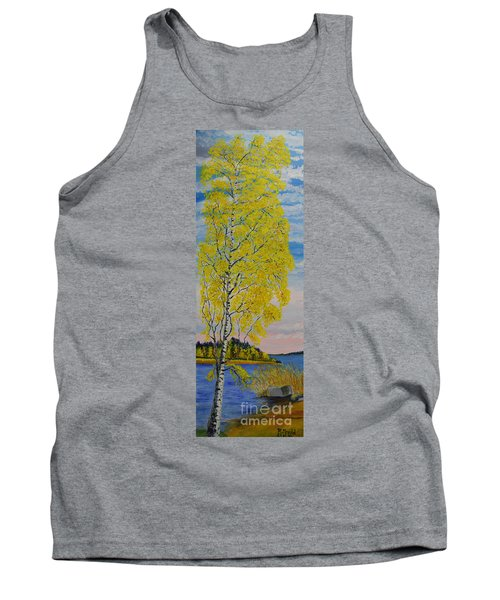 Seascape From Baltic Sea Tank Top