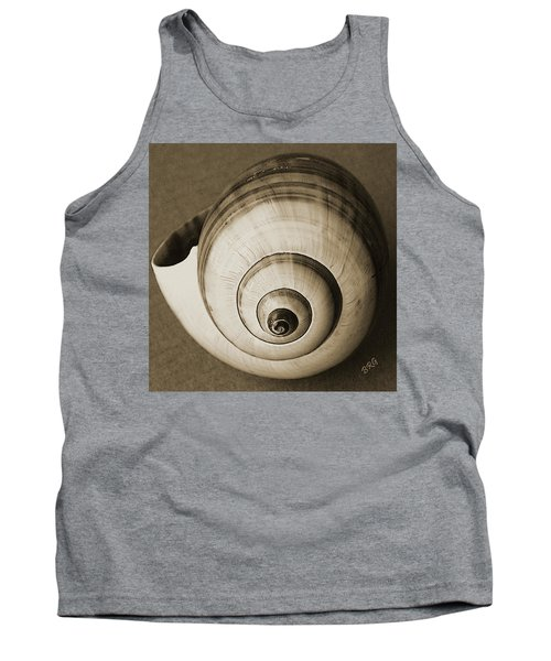 Seashells Spectacular No 25 Tank Top